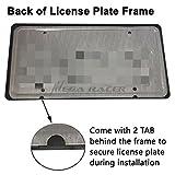 Mega Racer Front and Back License Plate Frames