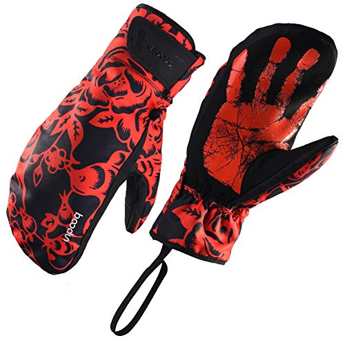 Waterproof Insulated Ski Mittens Or Big