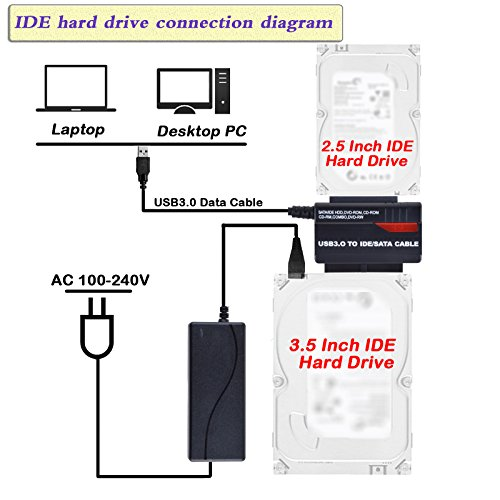 WANLONGXIN WLX-891U3 USB 3.0 to IDE SATA 2.5 3.5 Hard Drive ... on iphone cable wiring diagram, aircraft wiring diagram, sata hard drive connection diagram,