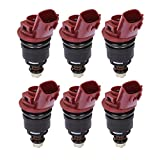 Catinbow 1660010Y00 6PCS Engine Fuel Injector Set