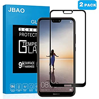 2-Pack]Huawei P20 Lite Full Coverage Screen Protector