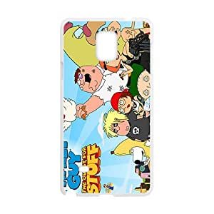 Family guy the quest for stuff Case Cover For samsung galaxy Note4 Case