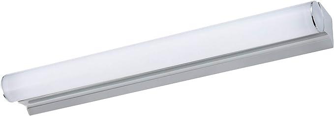 9w 18 Inch Modern Led Vanity Light Stainless Steel And Acrylic Make Up Mirror Light Fashion Led Wall Light Cabinet Mirror Light Bathroom Bedroom Lighting White Light Amazon Com