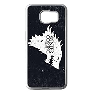 Personalized Customization Game of Thrones White Phone Case For Samsung Galaxy S6