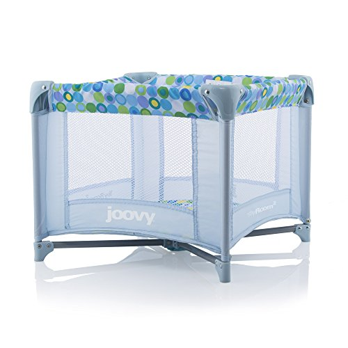 Joovy Toy Room2 Playard, Blue Dot