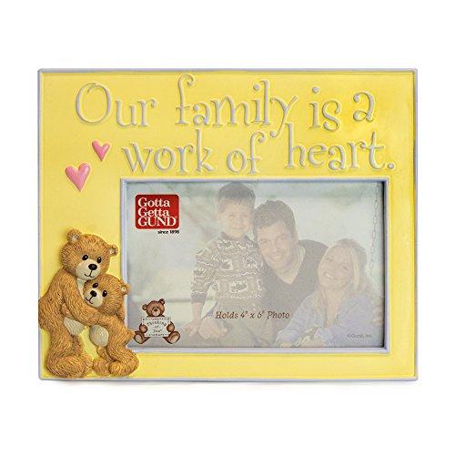 GUND Family Teddy Bear Picture Frame
