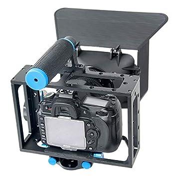 Yhuisen Manejar la cámara de vídeo de la Jaula Estabilizador + ...