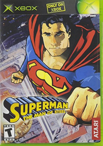 Superman The Man of Steel - Xbox Superman Games 360