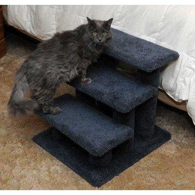 Cat Post Stairs Color: Gray, My Pet Supplies