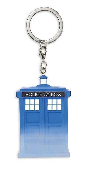 Llavero de Doctor Who, Tardis, Funko, vinilo, 4 cm, azul ...