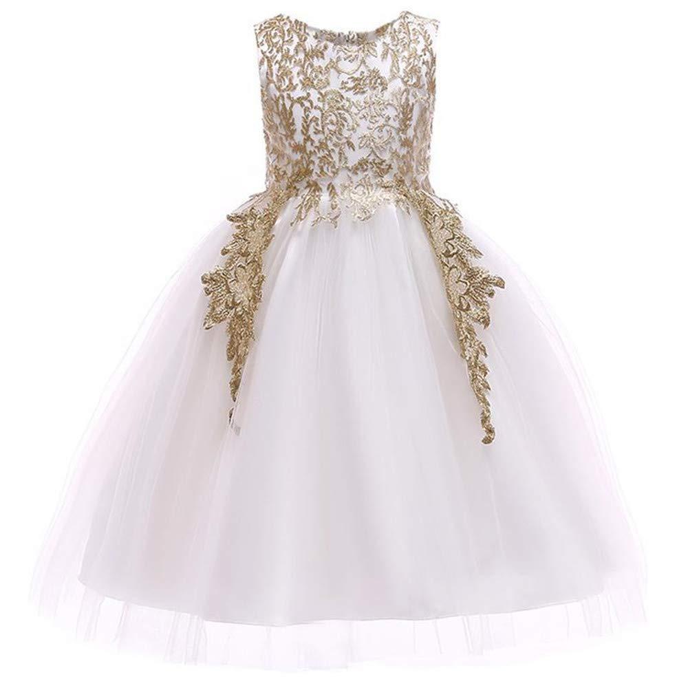 c8bd36d07e Childrens Gold Flower Girl Dresses - Gomes Weine AG