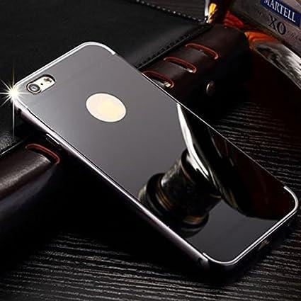 DDPL Luxury Black Colour Metal Bumper Acrylic Mirror  Amazon.in  Electronics 9a737b91b278