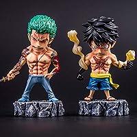 Action Figure One Piece Luffy Roronoa Zoro Tatuajes Dominantes ...