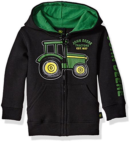 John Deere Fleece - John Deere Boys' Est 1837 Fleece, Black, 12 Months