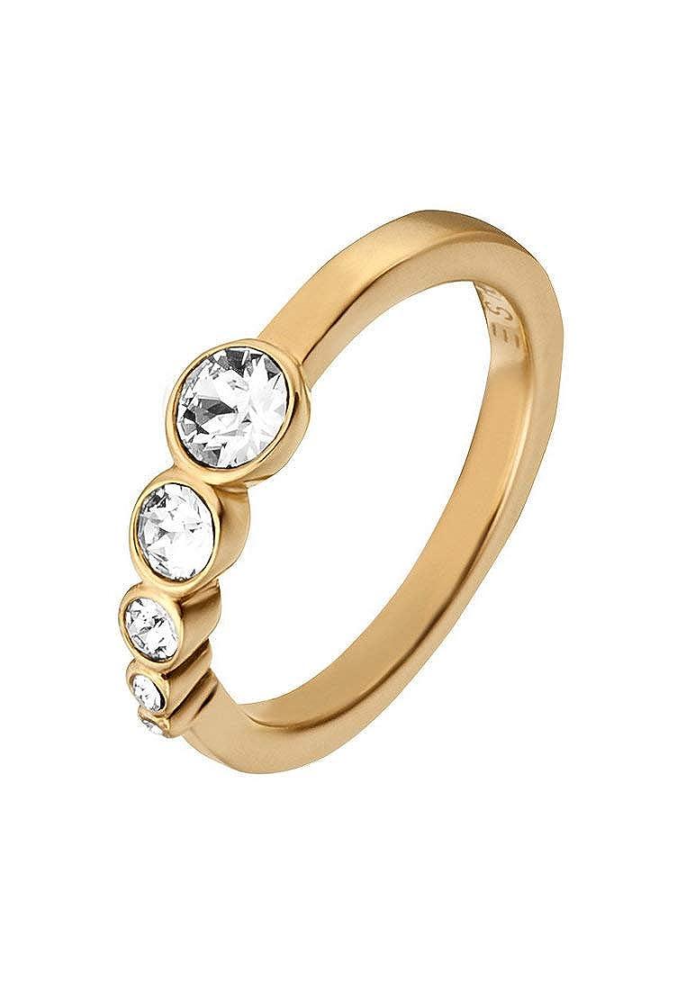 3b16fcf71 Esprit Women Stainless Steel Ring - ESRG00212216: Amazon.co.uk: Jewellery