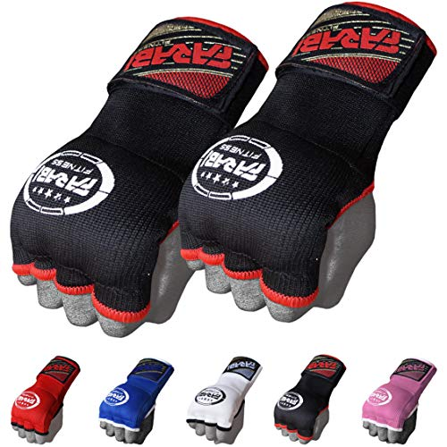 FARABI Kids Hybrid Boxing Inner Gloves Punching Boxing MMA Muay Thai Gym Workout Hand Wraps Gel Inner Gloves Fingerless Gloves Bandages Mitts Hand Protector.