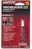Loctite 38653 222 Purple Low Strength Thread Locker Tube, 6-milliliter