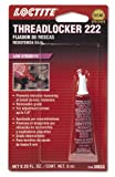 Loctite 555339 222 Purple Low Strength Thread Locker Tube, 6-milliliter