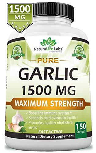 per Soft Gel Maximum Strength 150 Soft gels Promotes Healthy Cholesterol Levels Immune System Support ()