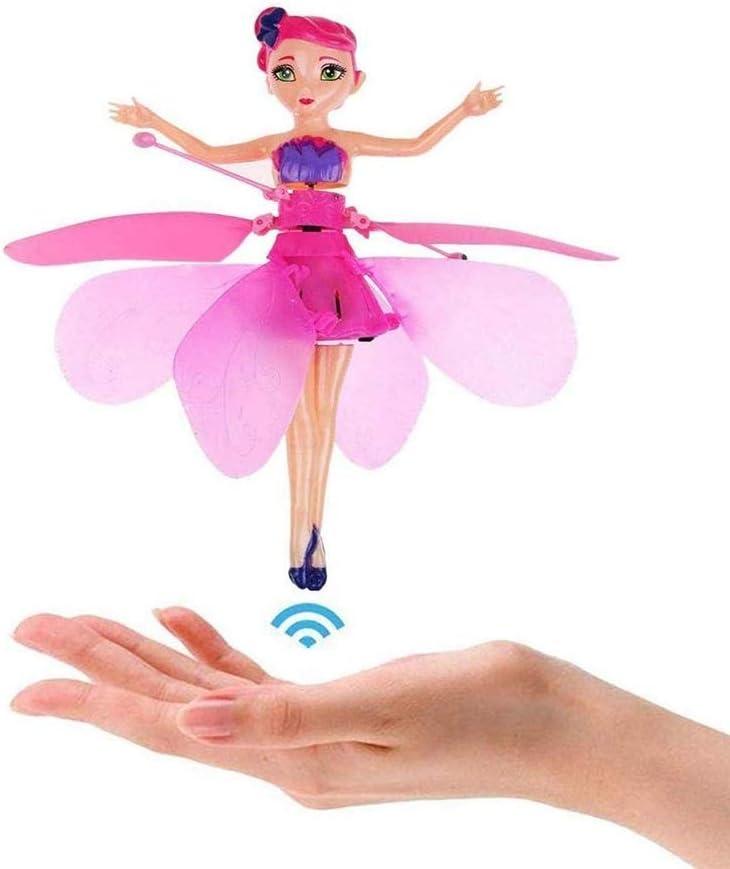 SYXX Los juguetes voladores, sensor inteligente de aeronaves, hada de las muñecas y la luz infrarroja Sensores, Juguetes for niños eléctrico suspendido juguetes voladores, iluminando los regalos que v
