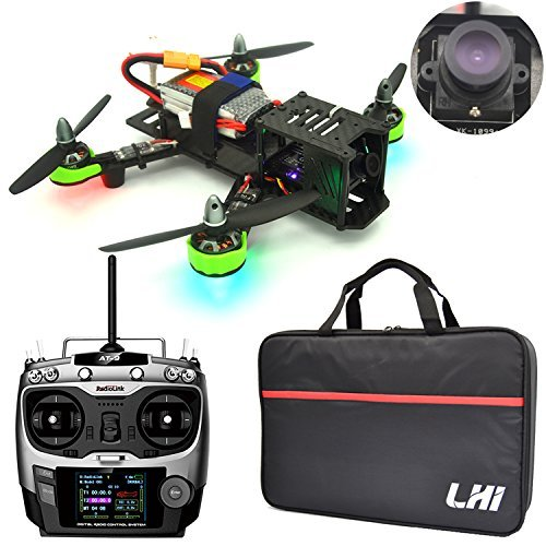 LHI FPV RTF Full Carbon Fiber 220 mm Quadcopter Race Copter Racing Drone with Radiolink AT9 Remote Controller 1000TVL Camera...
