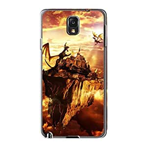 Shockproof Hard Phone Cases For Samsung Galaxy Note3 (lbN15182xeVO) Customized HD Manowar Band Series