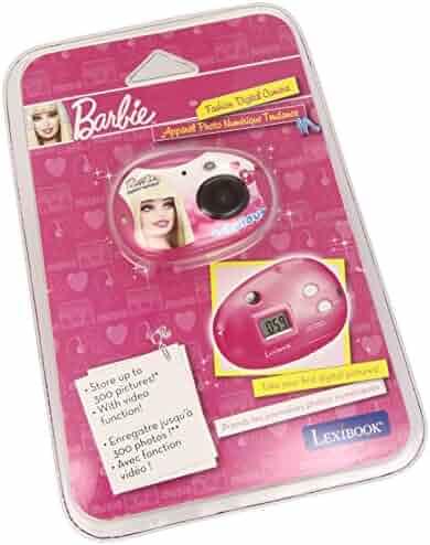 LEXiBOOK Barbie Fashion Digital Camera