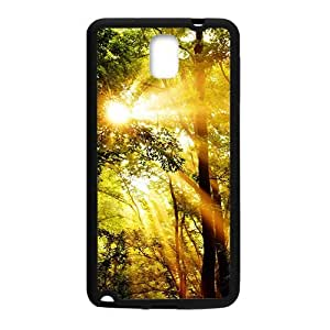 Sunshine beautiful nature scenery fashion phone case for samsung galaxy note3