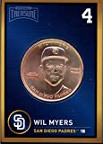 Wil Myers 2018 Baseball Treasure MLB Coins Copper San Diego Padres FD3218