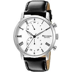 Rudiger Men's R2300-04-001 Bavaria Analog Display Quartz Black Watch