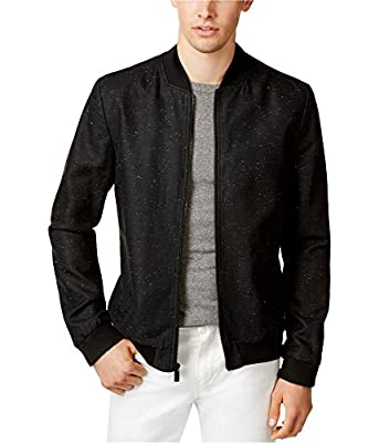 Calvin Klein Mens Speckled Bomber Jacket