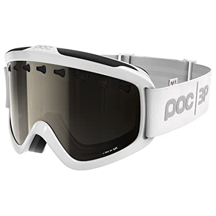 f81d9923b2a4 Image Unavailable. Image not available for. Color  POC Iris 3P Hydrogen  White Goggles w  Bronze Photochromatic Silver Mirror Lens