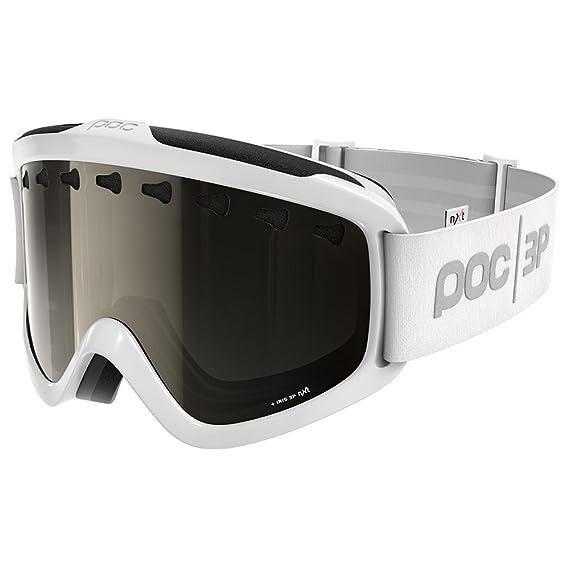 2b293c26ae7b Amazon.com   POC Iris 3P Hydrogen White Goggles w  Bronze Photochromatic Silver  Mirror Lens   Sports   Outdoors