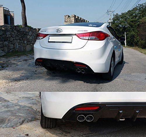 Avante MD Sell by Automotiveapple Samwon Rear Bumper DIFFUSER Glossy Black For 11 12 13 Hyundai Elantra