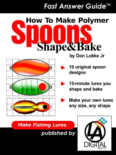 How To Make Fishing Lures – Polymer Spoons