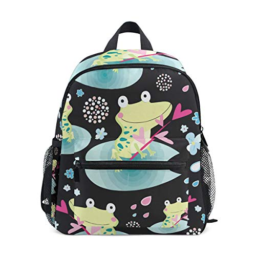 Happy Tree Frog Colorado Kid Backpack 12 inch Toddler Bookbag Travel School Bag