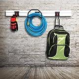 Work Pro Garage Storage Rail with 3 Hooks