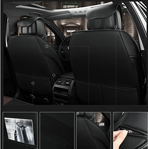 Luxury leather car seats full of sentence 5 programmable seat covers universal fit by YAOHAOHAO (Image #3)