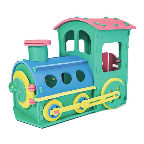 Zoeshare Kids Foam Train Engine Playset by Zoeshare