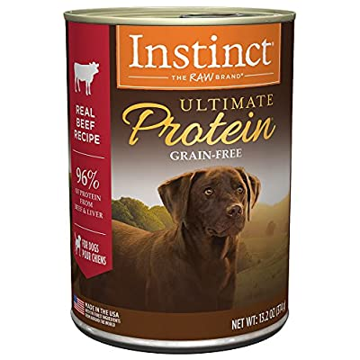 Instinct Ultimate Protein Grain Free Recipe Natural Wet Canned Dog Food