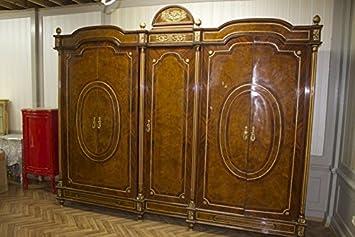 LouisXV Barocco Armadio Stile Antico MOBD07705: Amazon.it: Casa e cucina