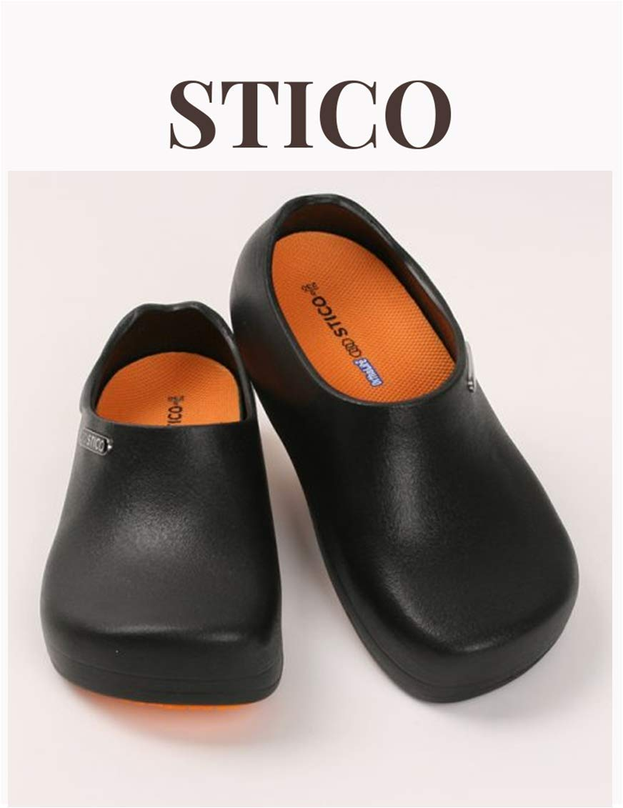 STICO] Slip Resistance Shoes for Chef and Nurse (M4-4.5 (US) W5-5.5)