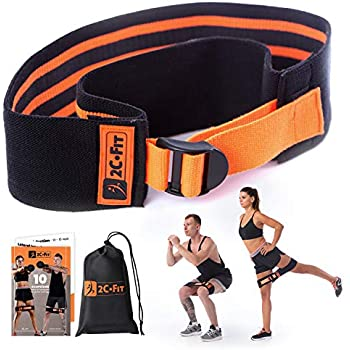 Vtive Resistance Loop Bands Set of 5 Workout Exercise Bands for Legs & Butt...