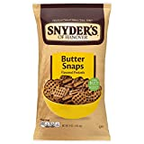 Snyder's of Hanover Pretzels, Butter Snaps, 9 Ounce (Pack of 12)