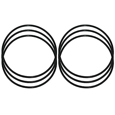 KleenWater Replacement O-Rings for Water Filter Models WS03X10039, 151122,GXWH30C, GXWH35F, GXWH40L, WHKF-DWHBB, WHKF-C9, WSO3X10039 and Culligan HD-950A, Multi Pack of 6