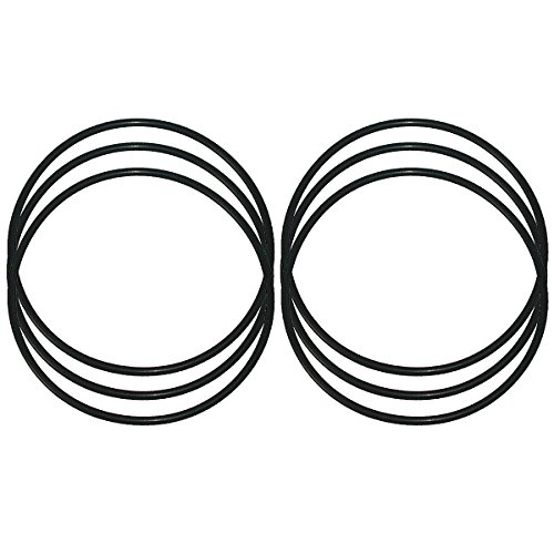 KleenWater KW-WS03X10038, Compatible O-rings for GE WS03X10038 and FXWTC, Set of 6 by KleenWater