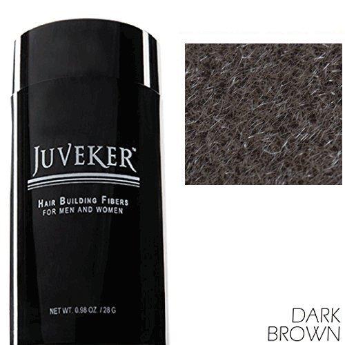 Juveker Hair Building Fibers for Men & Women - 28 Grams (DARK BROWN)