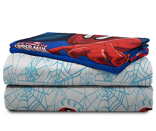 Marvel Spiderman 'Regulator' Toddler 4 Piece Bed Set 3