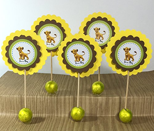 Simba-the-Lion-King-Cupcake-Toppers-Set-of-12