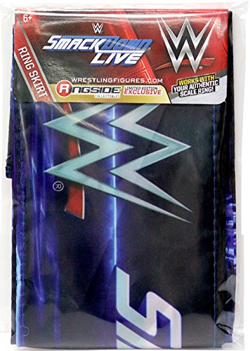 Ring Skirt (SmackDown Live) - WWE Ring Skirt Ringside Exclusive Wicked Cool Toys Toy Wrestling Action Figure Playset Accessory RING NOT INCLUDED
